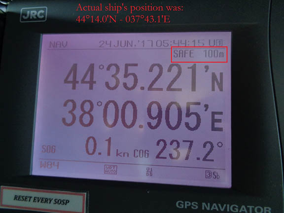 Reports of Mass GPS Spoofing Attack in the Black Sea Strengthen Calls for PNT Backup