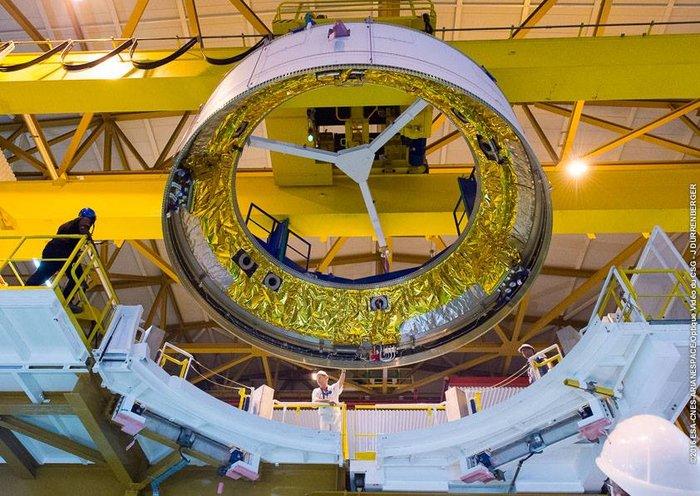 Ariane 5 Galileo Launcher Taking Shape at Spaceport