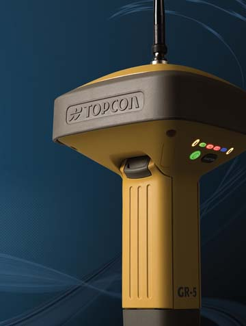 TOPCON Launches GR-5 Integrated GNSS Receiver/Antenna