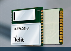 Telit Introduces Ultra-Slim, Smart Antenna GNSS Location Module