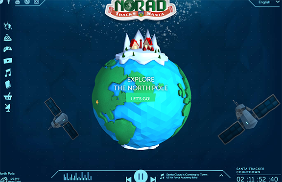 Once again, GPS to Help NORAD Track Santa Claus' Journey