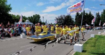 Follow the Sun: GNSS and Solar Car Racing