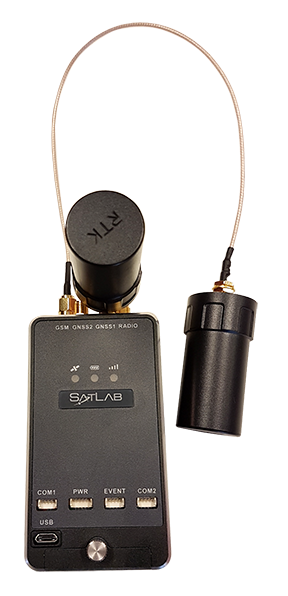 Satlab Geosolutions Introduces Ultra-Compact Multiconstellation GNSS UAV/RTK Receiver