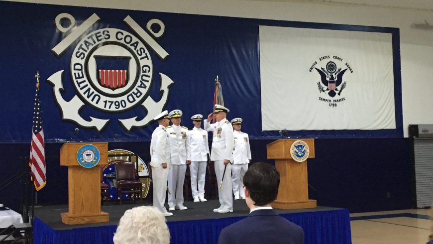 Holmes, Navigation Center Honored as Command Changes