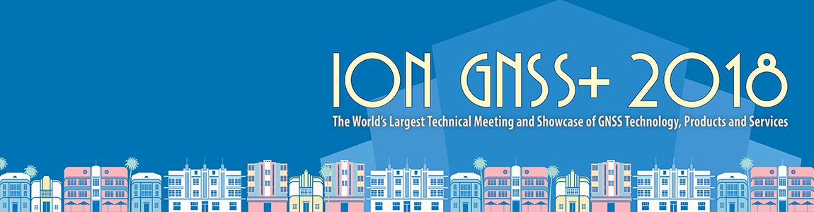 ION GNSS+ 2018 banner