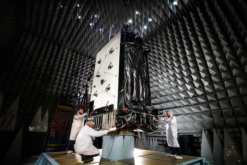 """Second Lockheed Martin GPS III Satellite Declared """"Available for Launch"""" by US Air Force"""