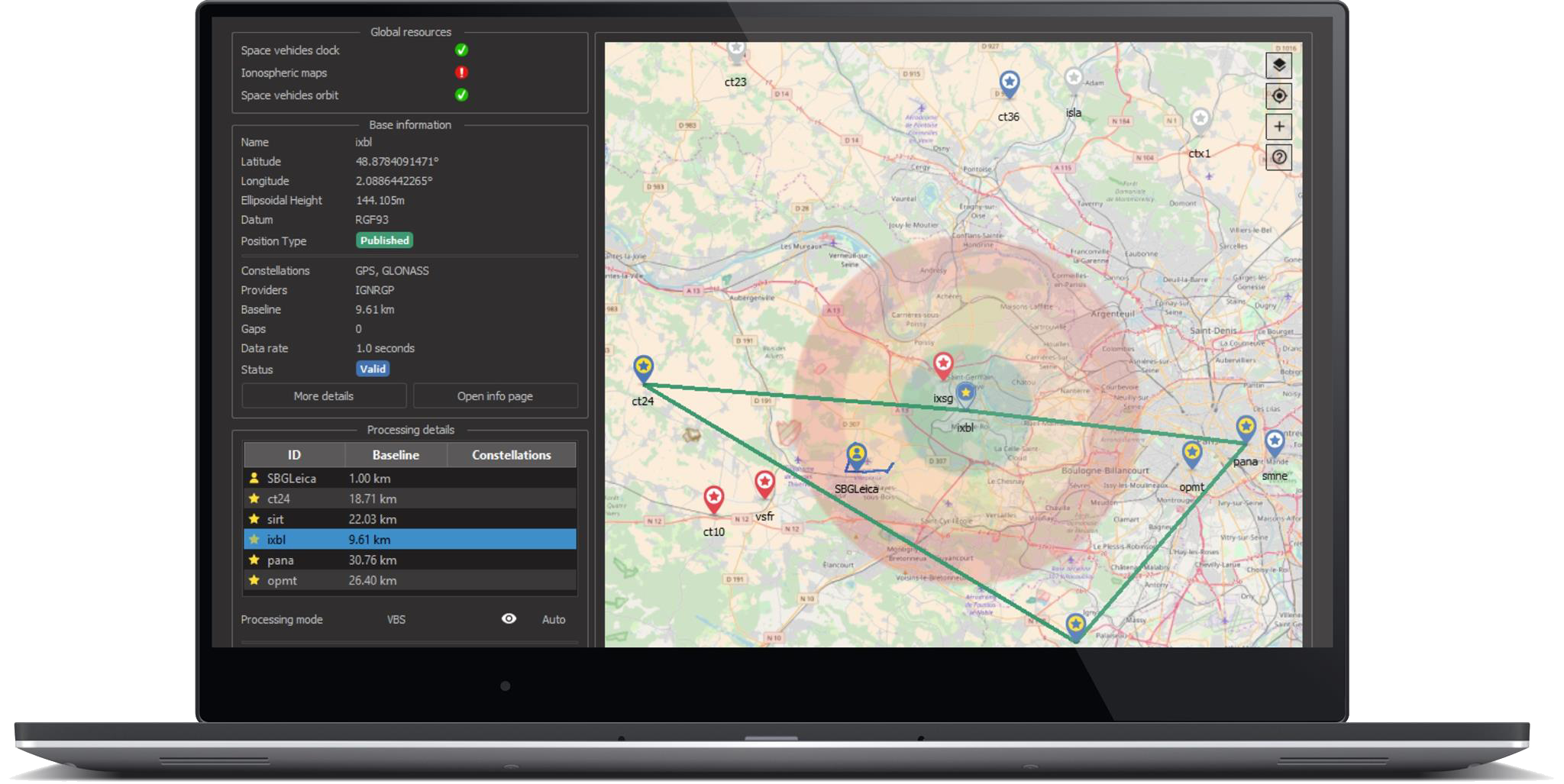 SBG Systems Showcasing Qinertia INS/GNSS Post-Processing Software
