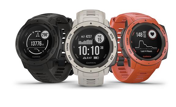 Garmin's Instinct GPS Watch Features Multi-GNSS Support