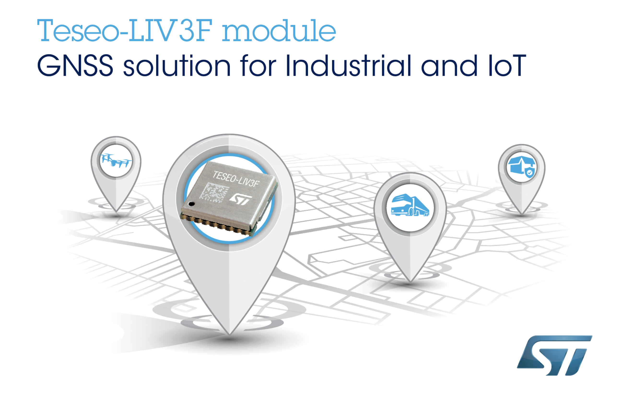 STMicroelectronics' GNSS Module Leverages Teseo III Chip