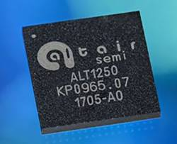 Altair Demonstrates Global Navigation/Location System of New ALT1250 IoT Chipset
