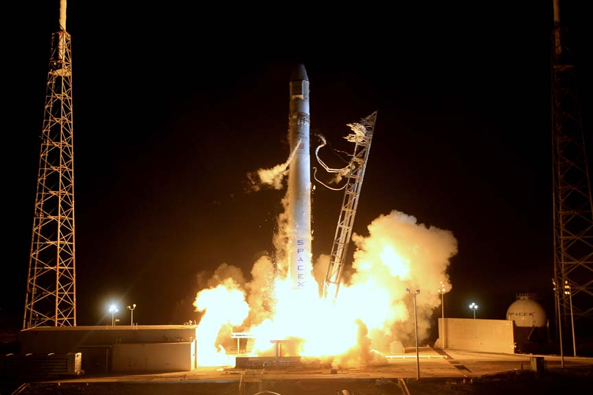 SMC Signs CRADA to Certify SpaceX Falcon Launcher