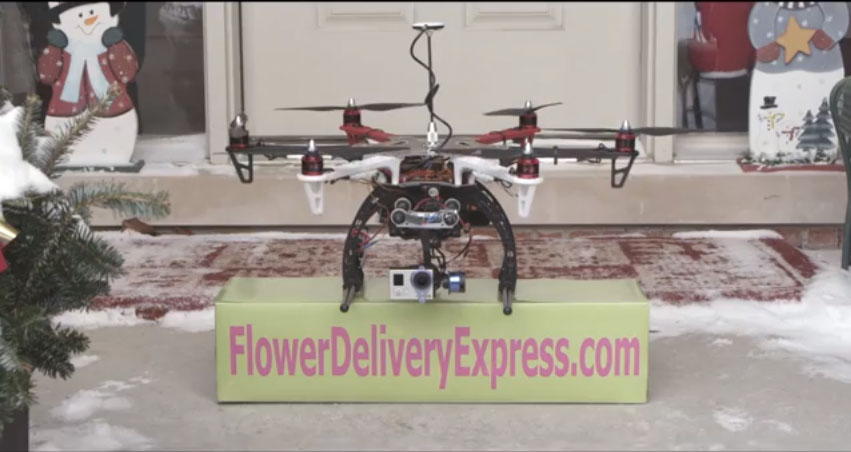 FAA Zaps UAV-Delivered Valentine's Day Flowers