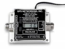 GPS Networking Offers Variable Gain Amplifier with Push Button Control