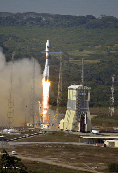 Second Pair of Galileo IOV Navigation Satellites Takes Off Successfully