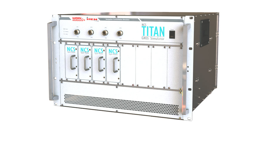 IFEN Launches NCS TITAN GNSS Simulator