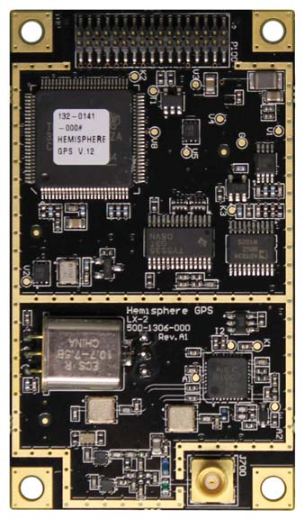 Hemisphere GPS Announces LX-2 L-Band OEM Board for Crescent and Eclipse GPS Receivers