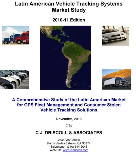 New Study Sizes Latin American Vehicle Tracking Markets