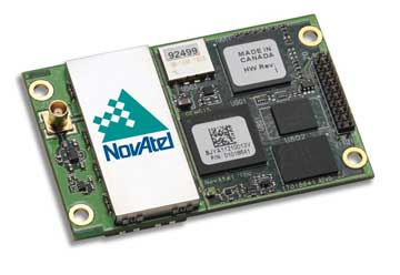 NovAtel Launches Business Card–Sized OEM 615 GNSS Receiver