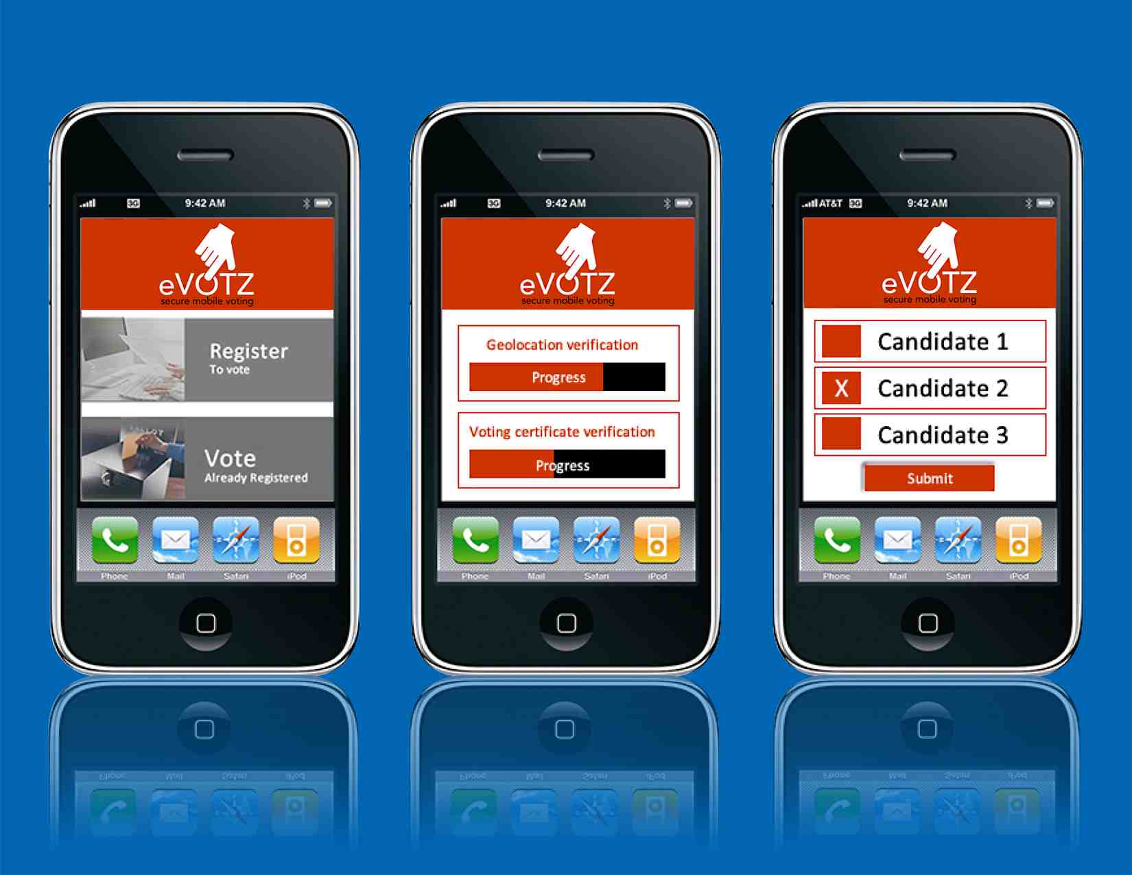 Mobile Voting Application Wins USA Challenge