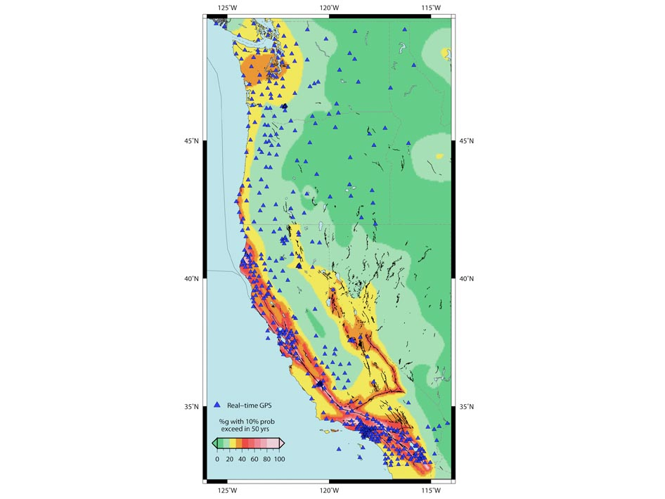 NASA Backs Test of Real-time GPS Earthquake Mitigation Network