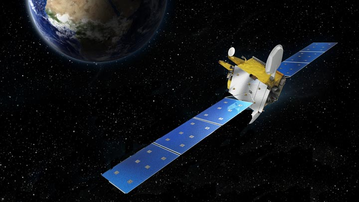 Galileo Satellite Achieves High Earth Orbit Positioning with GPS