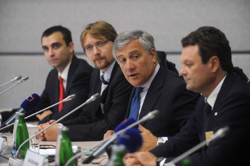 Europe's GNSS Program: Interview with European Commission Vice-President Antonio Tajani