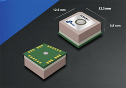 GlobalTop Technology Launches Titan X1 Multi-GNSS Module with Patch Antenna