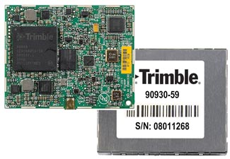 Trimble Launches 4-Constellation OEM GNSS Module