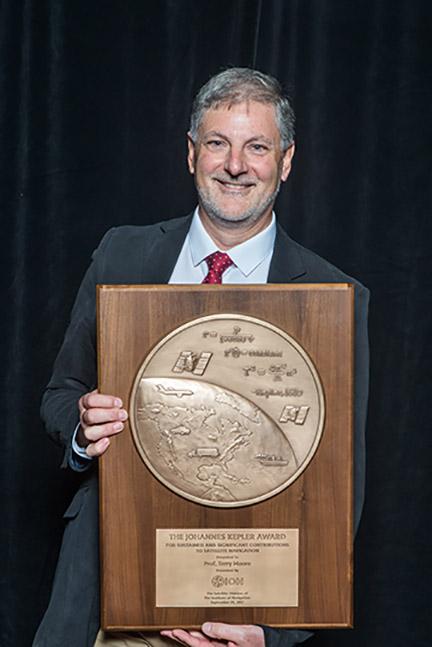 ION Presents Professor Terry Moore with Prestigious Johannes Kepler Award