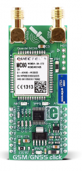 MikroElektronika releases GSM/GNSS click