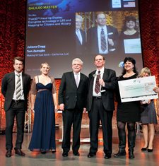 Augmented Reality System Wins Top Prizes in 2011 European Satellite Navigation Competition