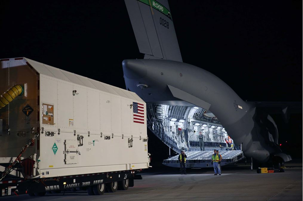 "Air Force's First Advanced, ""More Powerful"" GPS III Satellite Headed to Cape Canarveral"