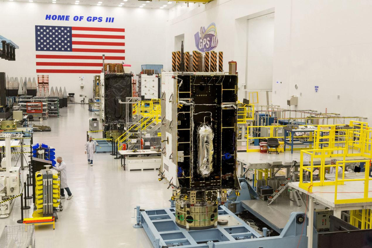 Air Force, Lockheed Martin Plan Updates to Ground Control System for New GPS III Satellites