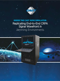 Replicating End-to-End CRPA Signal Wavefront in Jamming Environments