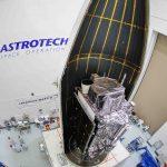 Lockheed Martin's 2nd GPS III satellite encapsulated