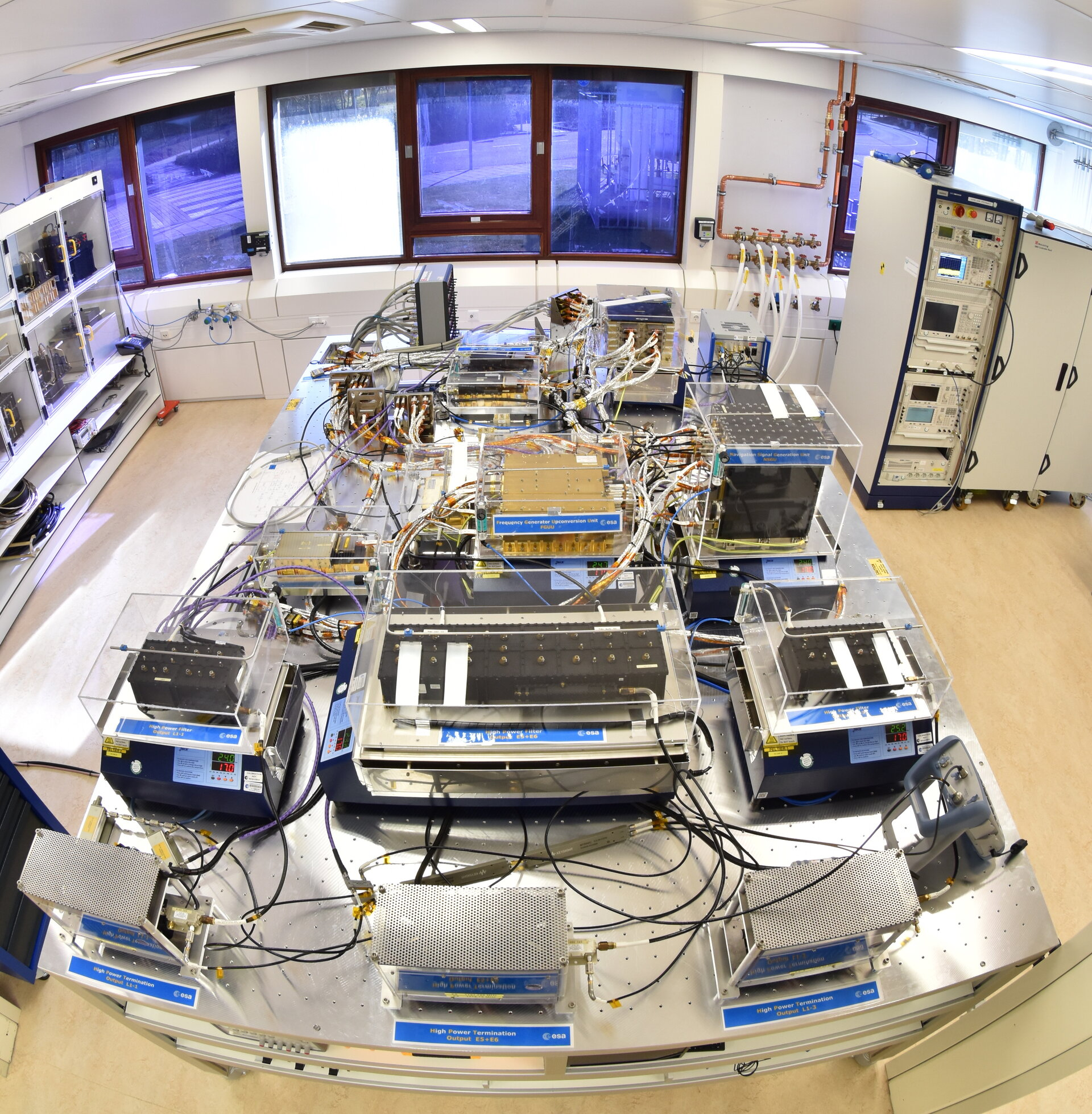 Galileo IOV Engineering Model Payload Testbed Facility'