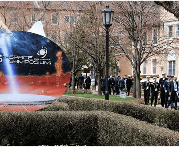 Photo courtesy Space Symposium.