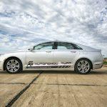 Autonomous Lincoln MKZ, courtesy AutonomouStuff.